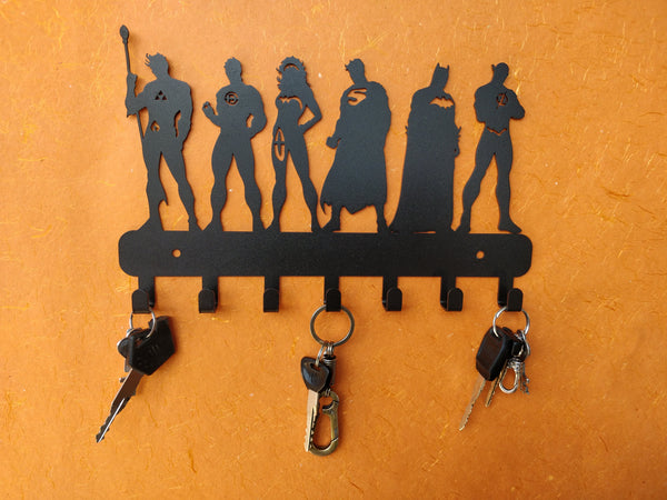 Justice League Super Heros Metal Key Holder