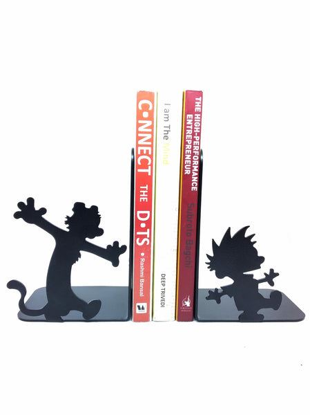 Calvin and Hobbes Metal Bookend