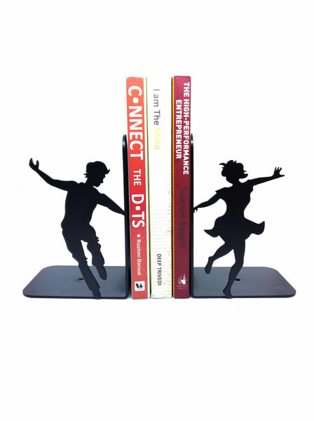 Couple Dancing Metal Bookend
