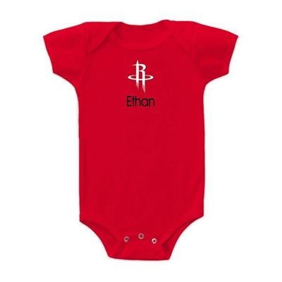 Houston Rockets Personalized Icon Edition Infant Bodysuit