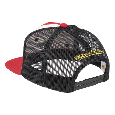 Men's Houston Rockets Mitchell & Ness HWC Buzzer Beater Snapback