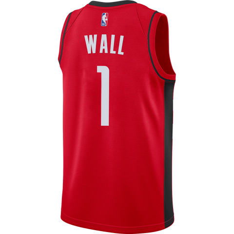 Men's Houston Rockets Nike John Wall Icon Edition Swingman Jersey