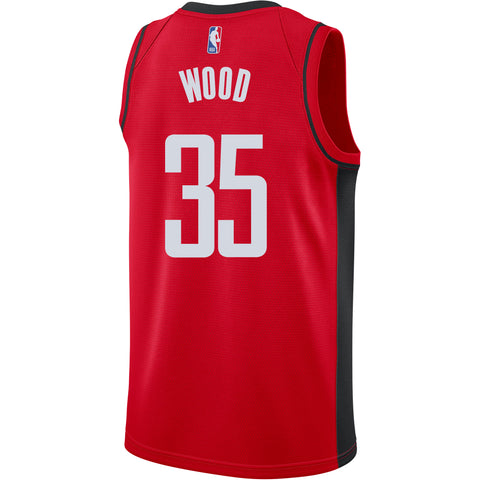 Men's Houston Rockets Nike Christian Wood Icon Edition Swingman Jersey