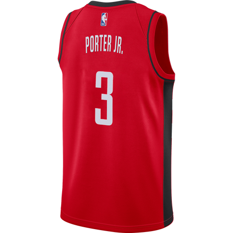 Men's Houston Rockets Nike Kevin Porter Jr. Icon Edition Swingman Jersey