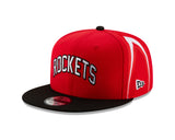 Men's Houston Rockets New Era Short Print 9Fifty Cap
