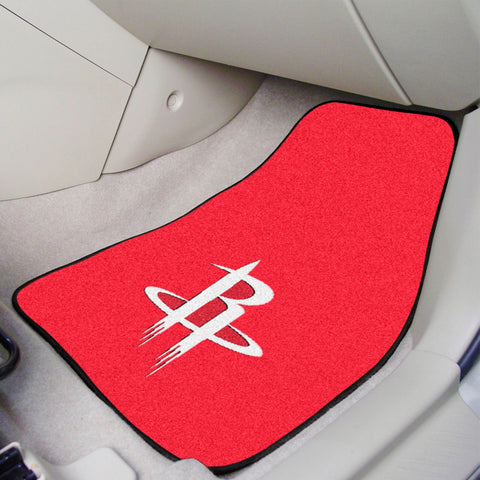 Houston Rockets 2-pc Carpet Car Mat Set