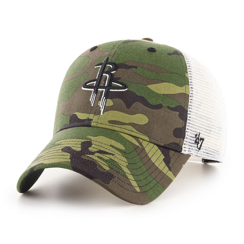 Men's Houston Rockets '47 Camo Branson MVP Cap