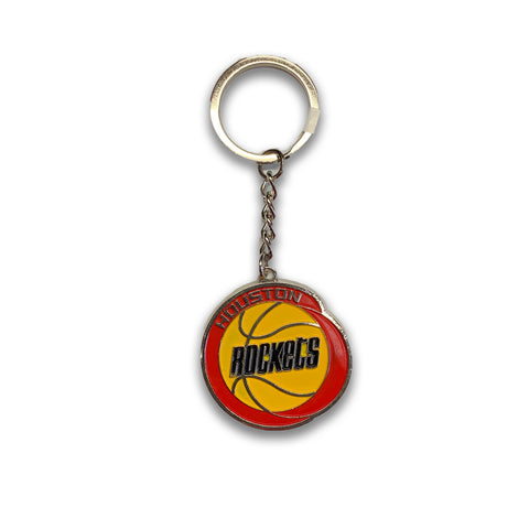 Houston Rockets HWC Logo Metal Keychain