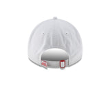 Men's Houston Rockets New Era Established Team Front 9TWENTY Adjustable Hat