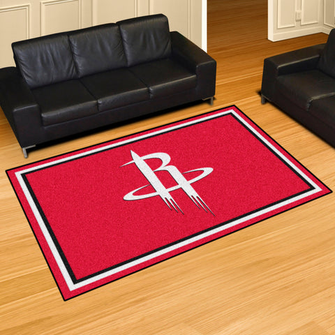 Houston Rockets 5x8 Rug