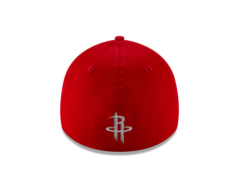 Men's Houston Rockets New Era Logo Panel 39THIRTY Flex Hat