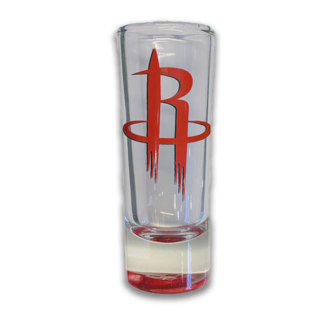 Houston Rockets Color Bottom Shooter Glass