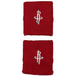 Houston Rockets Team Logo Wristbands - Red