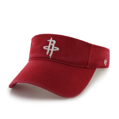 Men's Houston Rockets '47 Red Clean Up Visor