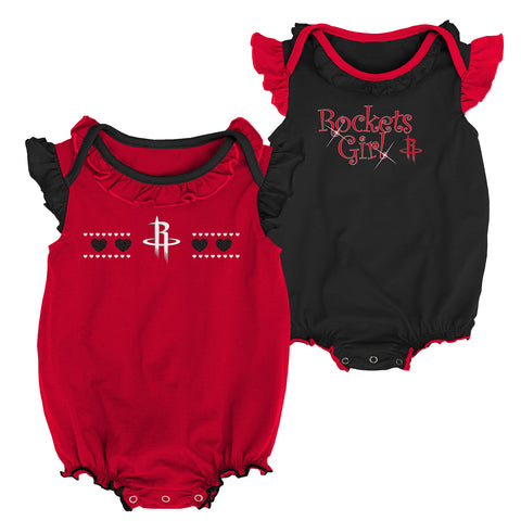 Infant Houston Rockets Homecoming Creeper 2-Pack Set
