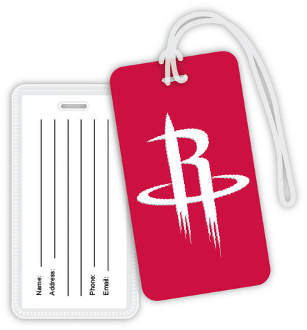 Houston Rockets Luggage Tag