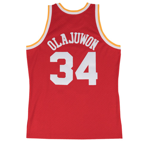 Men's Houston Rockets Mitchell & Ness Hakeem Olajuwon 1993-1994 Swingman Jersey