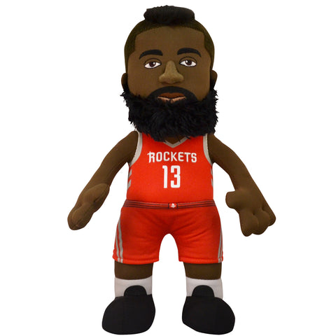 "Houston Rockets Uncanny Brands James Harden 10"" Bleacher Creature Plush"