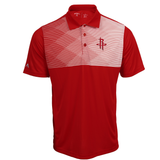 Men's Houston Rockets Red Tactic Antigua Polo