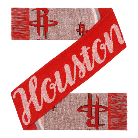 Women's Houston Rockets Glitter Script Scarf