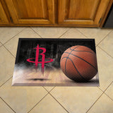 Houston Rockets Scraper Mat