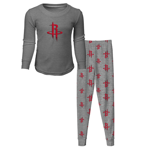 Child Houston Rockets L/S Tee & Pant Sleep Set
