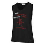 Women's Houston Rockets '47 Jefferson Letter Tank