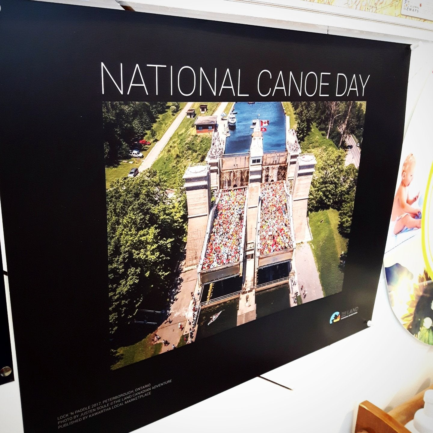 National Canoe Day Poster