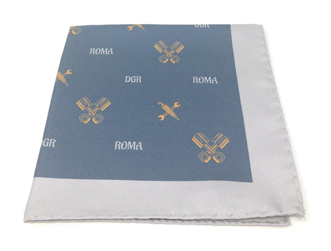 DGR limited edition 100% Silk Pocket Square - Wilmok