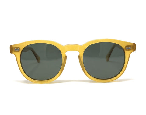 Florence Yellow Sunglasses - Wilmok