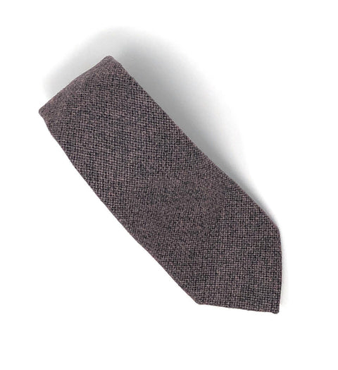 Italian Light Brown Handmade Wool Tie - Wilmok