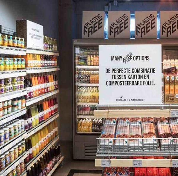 YASSS! World's first plastic-free aisle opens in Netherlands supermarket.