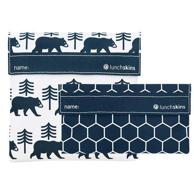 Reusable 2-Pack Bag Set Charcoal Bear best reusable bag usa today