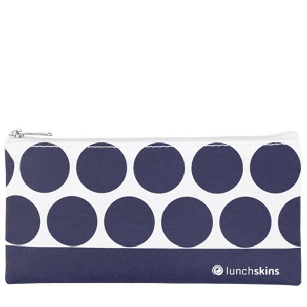 Reusable Snack Bag Zip Navy Dot food storage bag best reusable bag USA Today