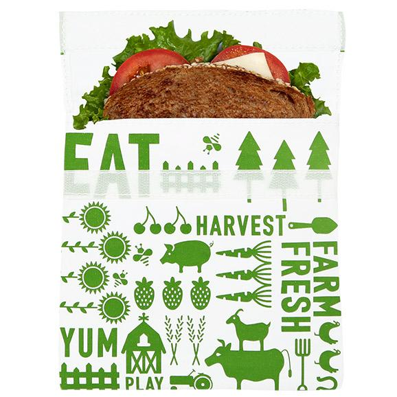 Reusable Sandwich Bag green farm food storage bag best reusable bag USA Today