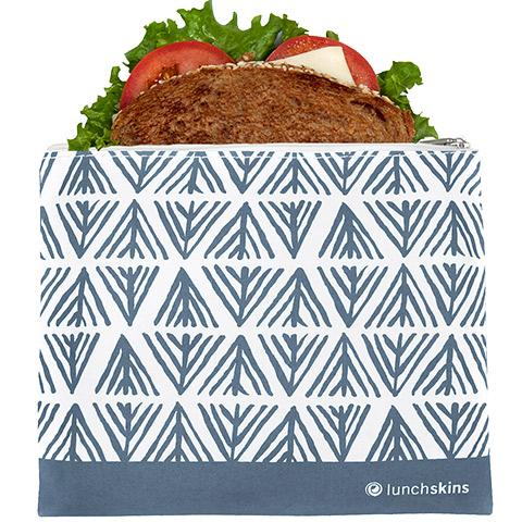 Reusable Sandwich Bag Zip Geo