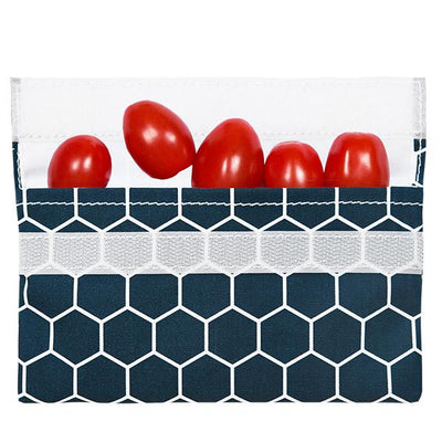 Reusable Snack Charcoal Honeycomb food storage bag best reusable bag USA Today