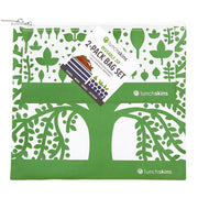 Reusable 2-Pack Zippered Bag Set Green Tree for food storage best reusable bag usa today