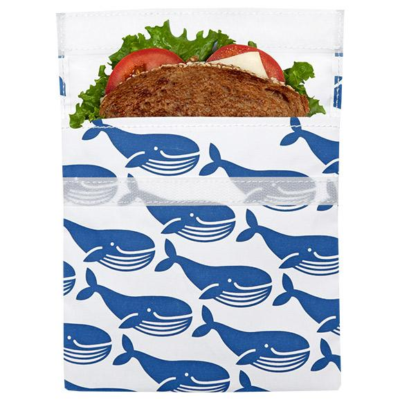 lunchskins reusable sandwich bag for food storage whale best reusable bag usa today