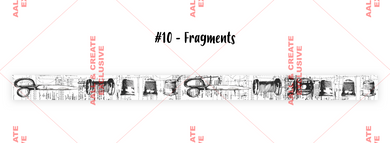 AALL & Create Washi Tape #10- Fragments