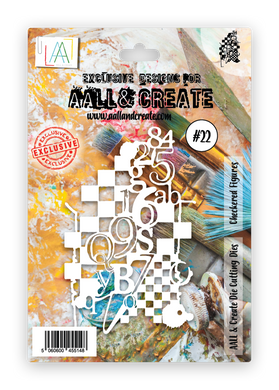 AALL & Create Cutting Dies #22 - Checkered Figures
