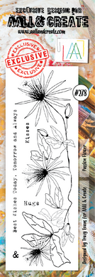 AALL & Create Border Stamp #278 - Passion Flower