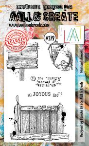 AALL & Create A6 Stamp Set #279 - Medieval Elements