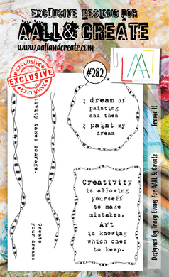 AALL & Create A6 Stamp Set #282 - Frame It