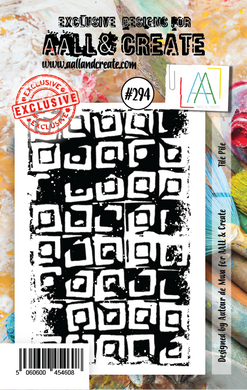 AALL & Create A7 Stamp Set #294 - Tile Pile
