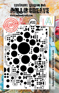 AALL & Create A7 Stamp Set #313 - Reverse Dotz