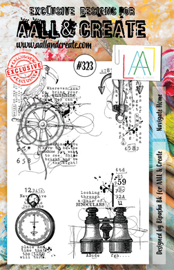 AALL & Create A5 Stamp Set #323 - Navigate Home