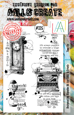 AALL & Create A5 Stamp Set #325 - Time Up