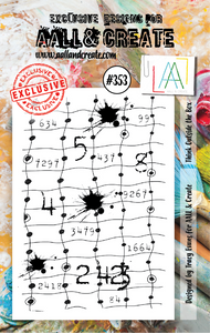 AALL & Create A7 Stamp Set #353 - Think Outside The Box