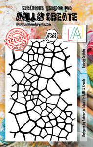 AALL & Create A7 Stamp Set #363 - Quirky Cobbles